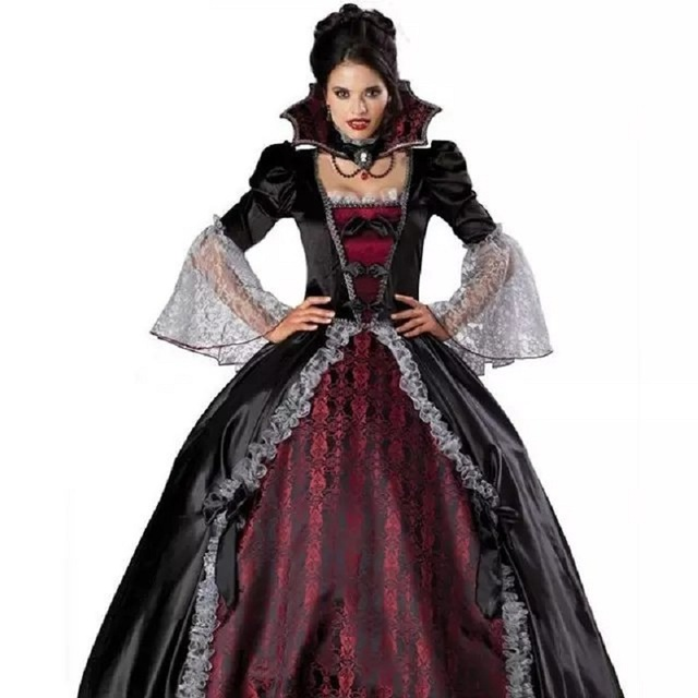 femme vampire zombie robe femmes fant me mari e cosplay. Black Bedroom Furniture Sets. Home Design Ideas