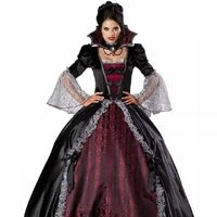 Female Vampire Zombie Dress Women Ghost Bride Cosplay Uniforms Queen Clothes Halloween Costumes For Women