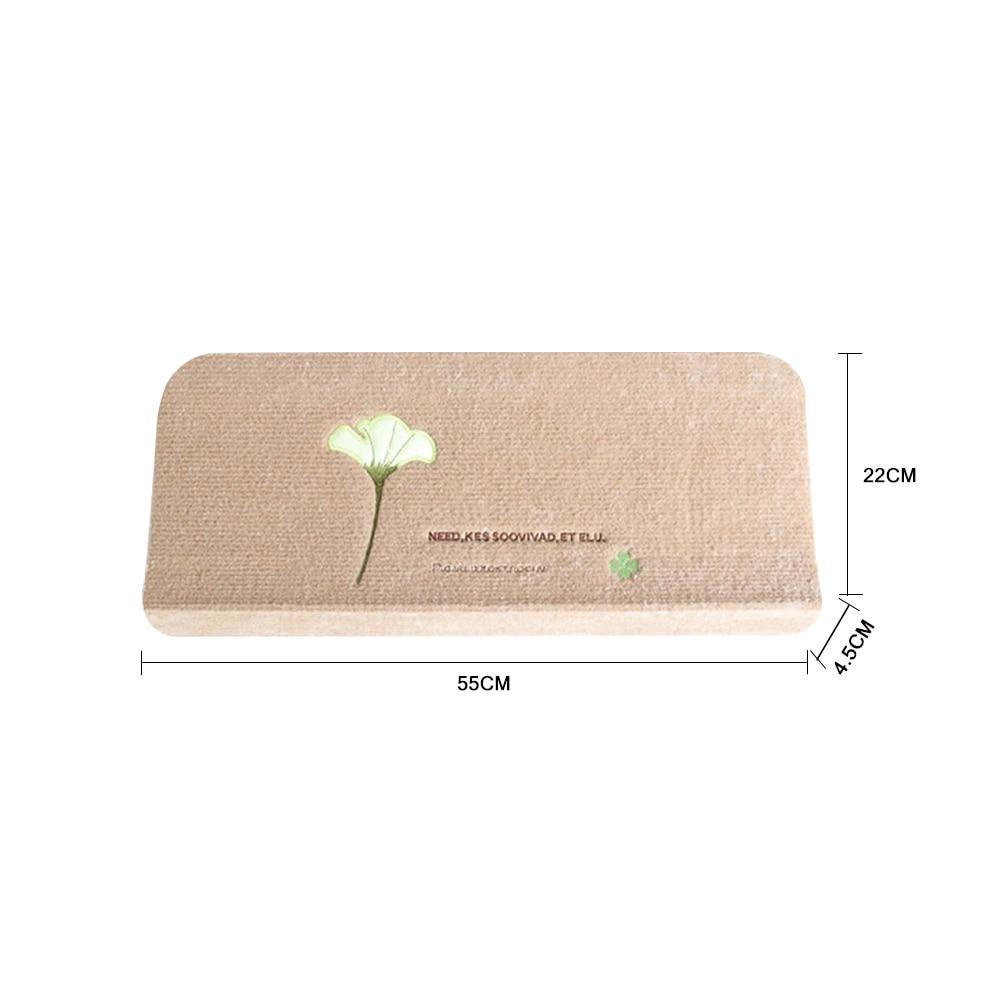 2pcs Luminous Staircase carpet Pad Footprint Pattern Mats Non-slip Stair Mat Self-Adhesive Floor Sticker Children Carpet