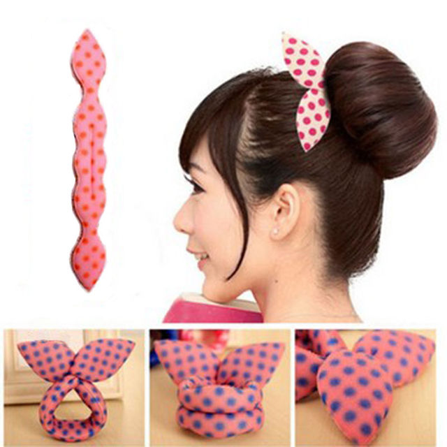 Fashion Hair Twister Hairband Hairstyle Aid Knot 2 Colors