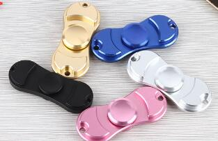 Multi-color Finger Gyro Metal EDC Hand Spinner Aluminum Alloy Fidget Spiner For Autism And ADHD Rotation Anti Stress Funny Toys