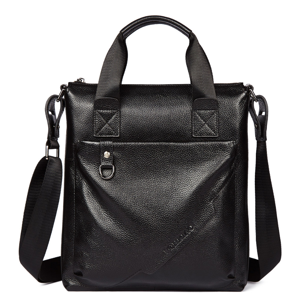 100% Top GENUINE LEATHER Cowhide Shoulder Leisure Men's Bag Business Messenger Portable Briefcase Laptop Casual Purse Handbag-in Crossbody Bags from Luggage & Bags on AliExpress - 11.11_Double 11_Singles' Day 1