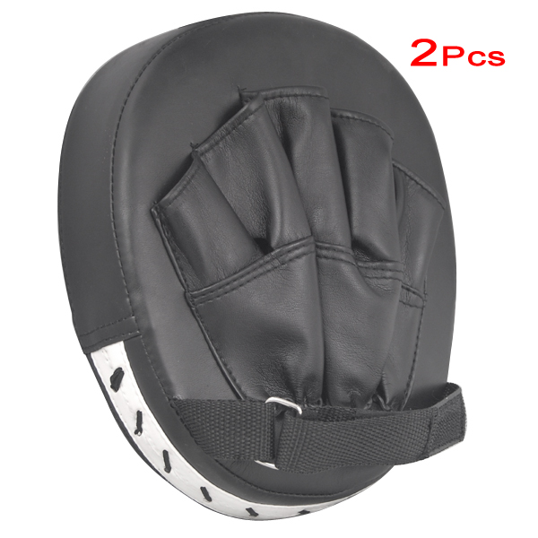 JHO-2x almohadillas de enfoque gancho guantes de boxeo guantes de - Ropa deportiva y accesorios