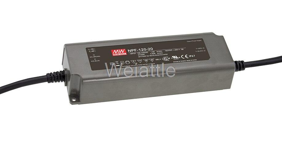 Moyenne bien original NPF-120-42 42 V 2.9A meanwell NPF-120 42 V 121.8 W unique sortie commutateur de courant LEDMoyenne bien original NPF-120-42 42 V 2.9A meanwell NPF-120 42 V 121.8 W unique sortie commutateur de courant LED