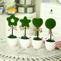 Simulated Flower Party Items Love Simulation Plant Flower Pot Home Creative DIY Holiday Decoration Christmas Decoration