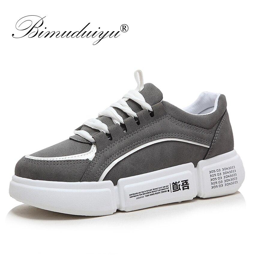 la piattaforma pelle casual papà spessa con piattaforma scarpe gary donna primavera nero sneakers autunno pu scarpe pu Bimuduiyu confortevole donna 8nqBOwYxvC