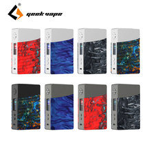 цена Geekvape Nova 200W TC Box Mod Portable E-cigarette Vaping Mod Support Cerberus Tank TC Mods with Advanced AS Chipset VS Drag Mod