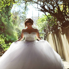 TPSAADE 2016 Vestidos De Novia Wedding Dresses Full Sleeve
