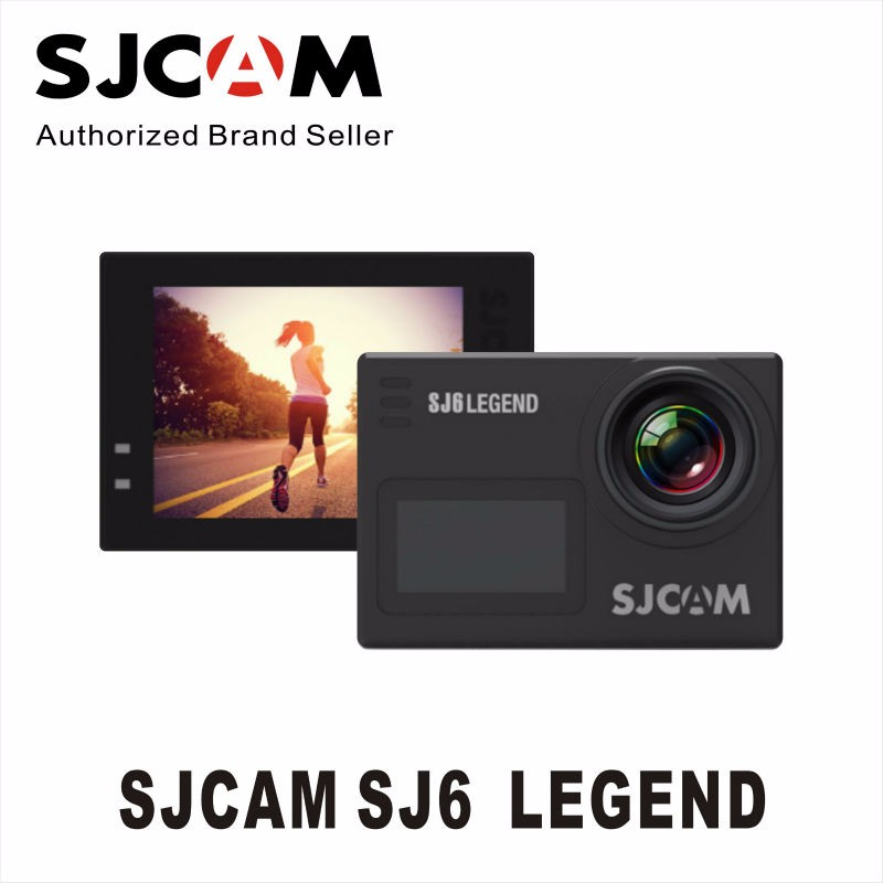 New-Presale-SJCAM-SJ6-Legend-Dual-screen-4K-24FPS-2-Touch-Screen-Remote-Action-Camera-30M