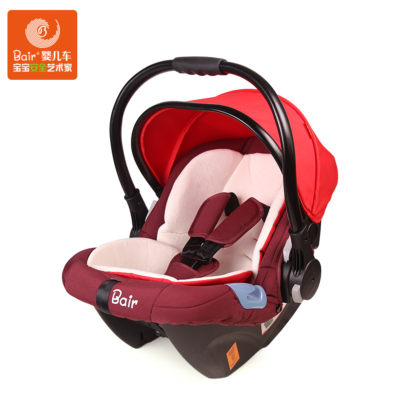 Portable Basket Type Baby Car Seat, Infant  Cradle, Europe Standard Safety Baby Car Seat for Newborn