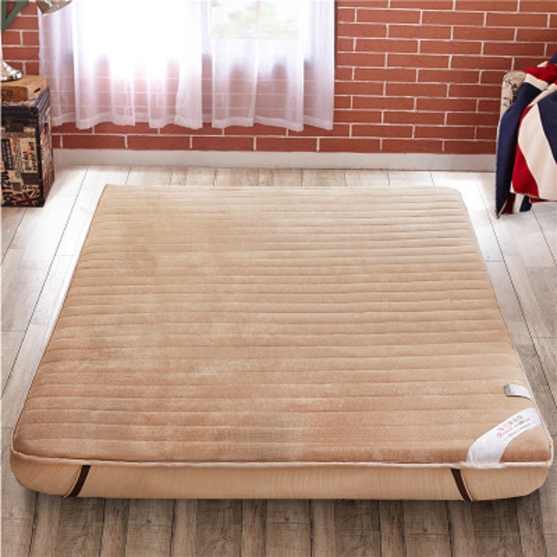 10cm Thickness Comfortable And Healthy Mattress Tatami Mats Folding Thick Flannel Mattress