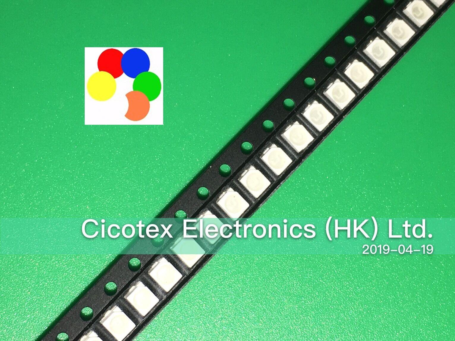 50PCS 1210 3528 Super Bright Blue SMD LED 3.5mm×2.8mm