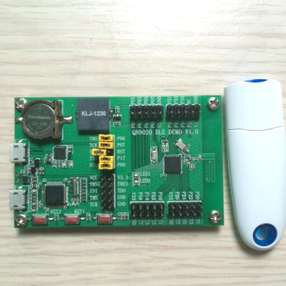 QN9020 QN9021 development board with USB bluetooth Dongle provides SDK 4.0 BLE fast free ship nrf52832 development board bluetooth 4 2 chinese tutorial compatible with the official nrf52dk development board