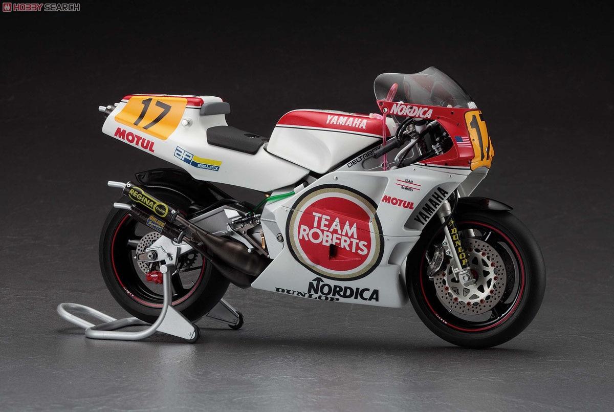 1/12 Yamaha YZR500 Moto OW98 Lucky Strike 21707 Model Buiding Kits цена и фото