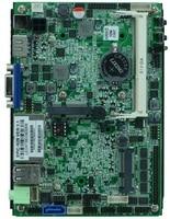 Không quạt intel 3.5 inch sbc bo mạch chủ intel n2800 với 2 lan, LVDS/VGA/HD Hiển Thị/6 * USB/6 * COM/DC_12V đầu vào
