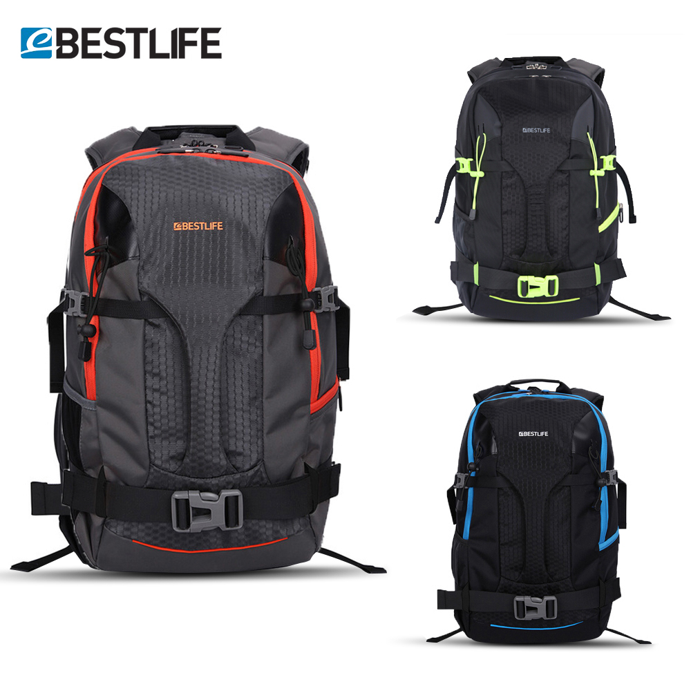 BESTLIFE mochila Urban Outdoor Travel Backpack For Men Women 17 Laptop Bag Water Resistant Nylon Adventure