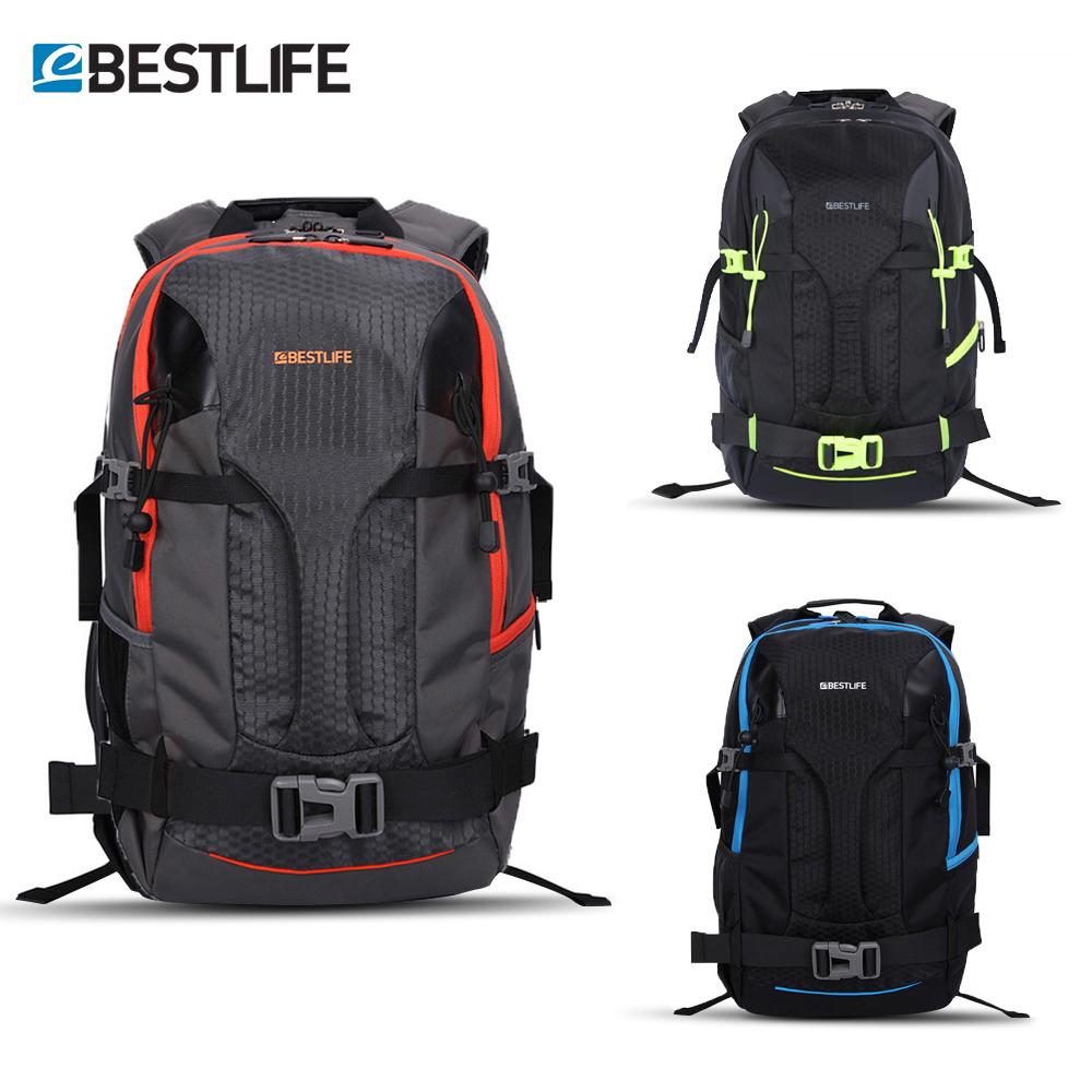 BESTLIFE mochila Urban Outdoor Travel Backpack For Men Women 17 Laptop Bag Water Resistant  Nylon Adventure  Skateboard Daypack
