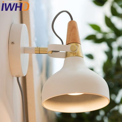 IWHD Iron Wandlamp Led Wall Light Up Down Modern Home Lighting Fixtures Sconce Fashion Bedroom Wall Lamp Lamparas de Pared modern acrylic led wall lights bedroom bedside wall lamp lampara de pared bed room decoration lighting wall sconces
