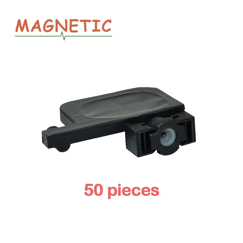 50pcs UV damper inchiostro Quadrato per EPSON DX3 DX4 DX5 7800 1800 1390 1100 per Roland Mimaki Mutoh testina di stampa testina di stampa serranda