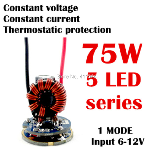 26mm 5 led series 1mode constant voltage current thermostatic26mm 5 led series 1mode constant voltage current thermostatic protection searchlight car lights high power driver circuit board