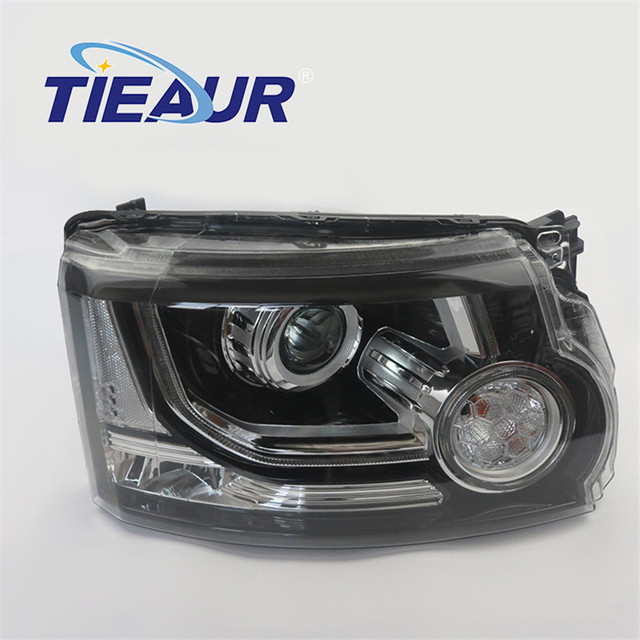 Headlight Xenon Light for LANDROV DISCOVERY 4 LR023536 LR023537 From 2010-2013 upgrade to 2014 years Without AFS Headlight With 1