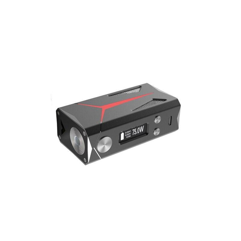Authentic Sbody Macro DNA75 Box Mod V2 Evolv 75w Chip Vape Box Mod Fit 18650 20700 Battery RDA RTA RDTA Tank TC Vaporizer Hot
