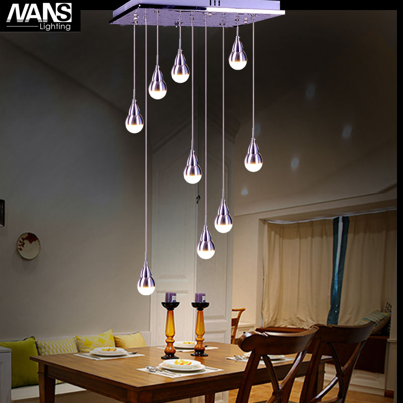 NANS  Bocci  Replaceable LED Bulb AC 110-240V  Light  Meteor Rain Meteoric Shower Stair Bar Droplight Chandelier Lighting