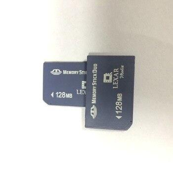 Original!!! Lexar 128mb Memory Stick DUO MS Memory Card MS Card Adapter