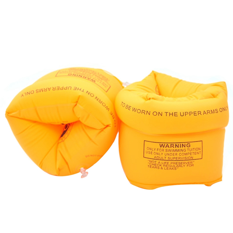 1 set Adult Children Learn To Swim Tool Arm Circle Safety Thickening Double Air Bag Inflatable Swimming Ring Pool Float