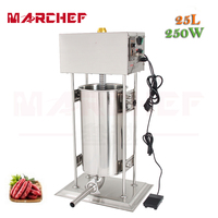 25L Automatic Vertical Stainless Steel Commercial Electric Sausage Stuffer Filller Machine