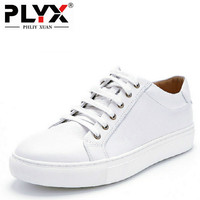 Brand PHLIY XUAN British Retro Casual Male Shoes 100 Handmade White Mens Loafers Genuine Leather Chaussure