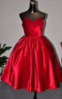 Elegant Red Ball Gowns Velvet Evening Dress Prom Short Formal Dresses For New Years Eve 2019 Puffy vestido De Festa De Casamento