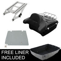 King Tour Pak Pack Trunk For Harley Davidson Touring Street Road Glide 2014 2018 Motorcycle Accessories