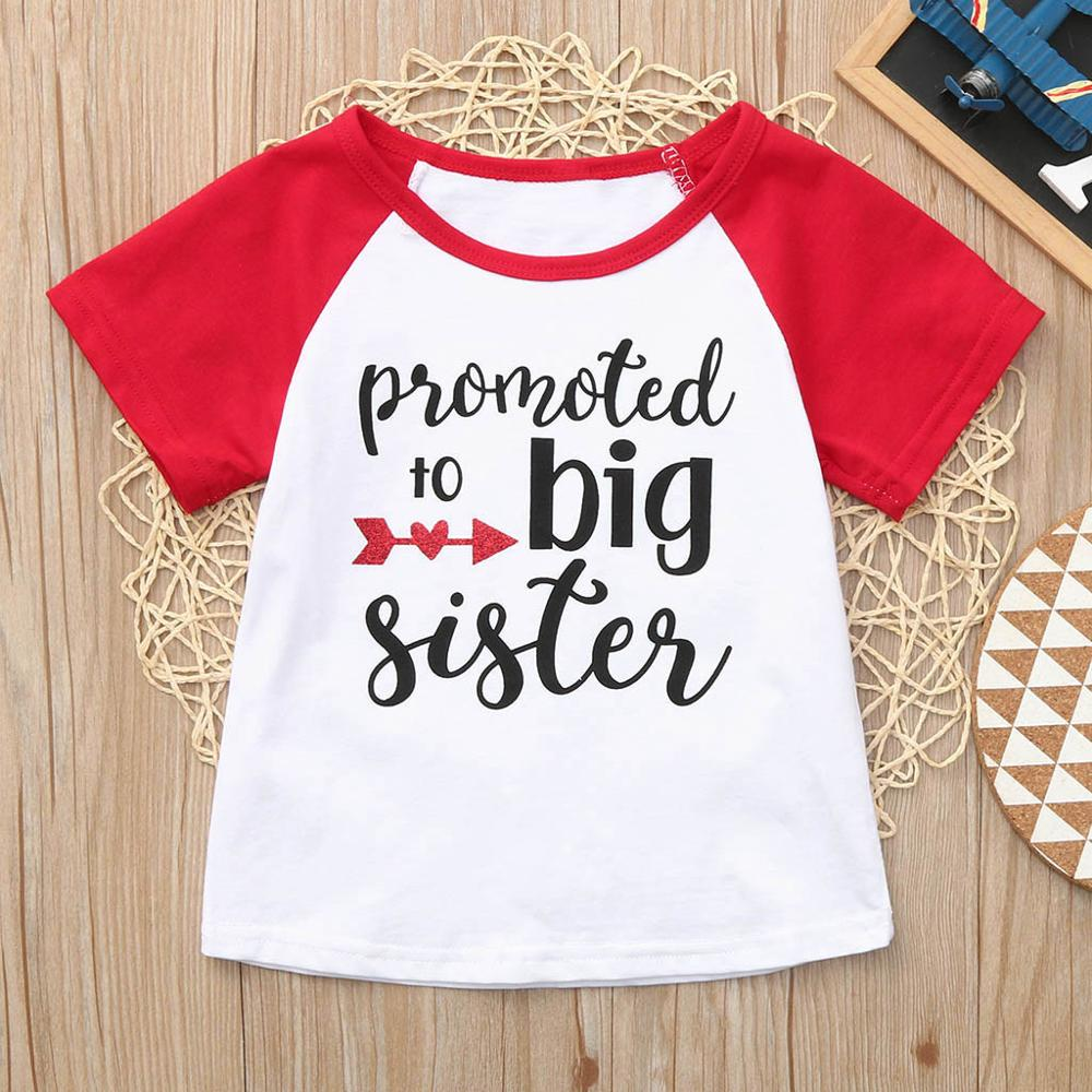 Summer Fashion Cute Toddler Baby Boys Girls Clothes Short Sleeve Letter Print Tops T-Shirt Clothes(China)