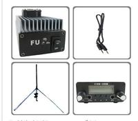 FMUSER FU 30A 30 Вт Профессиональные FM Усилитель передатчика 85 ~ 110 мГц wth GP комплект антенны