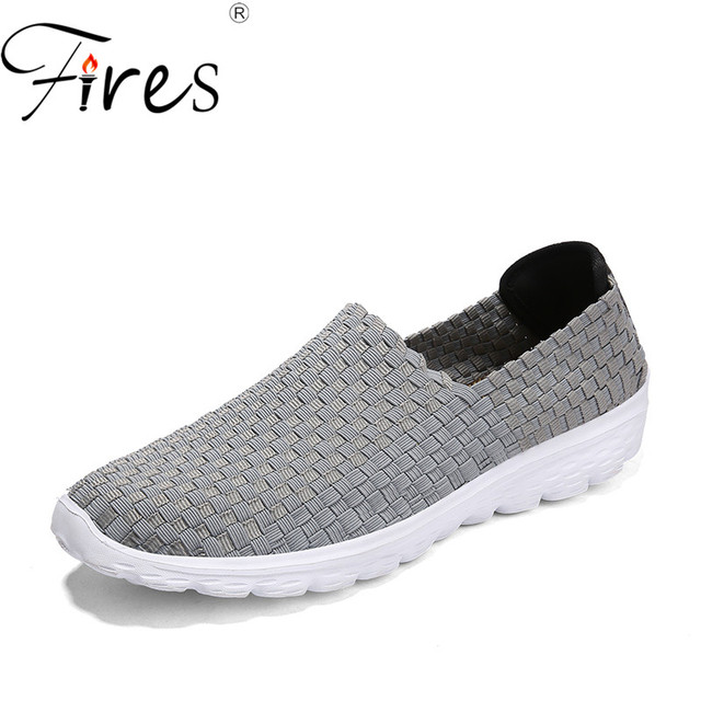 Fires Men Run Sneakers Summer Outdoor Sport Shoes Soft Lightweight Jogging Shoes  Male Cool Walking Sneaker Soli Color Shoes edf2512e2be6