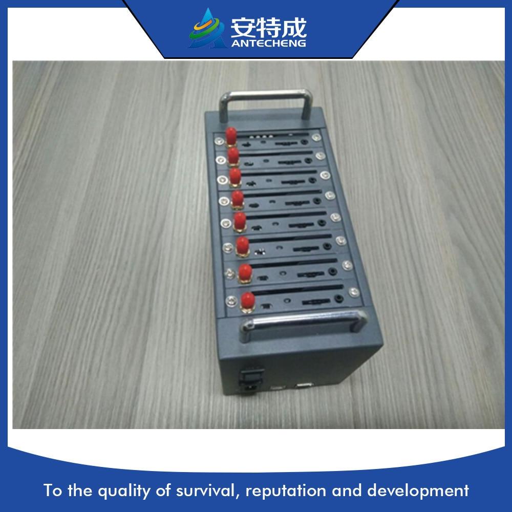 8 Ports gsm modem pool for send bulk sms, Quad band MC55I module 8 sim card slots GSM modem pool gsm modem pool 8ports gsm gateway quad band