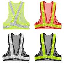 Труда трафика видимость строительство светоотражающий предупреждение передач сетки высокая жилет безопасности