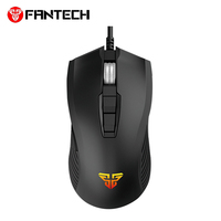 FANTECH X14 Professional Wired Gaming Mouse Optical Game mouse Adjustable 4000 DPI 7 Button Macro usb Mouse For PC Mouse Gamer