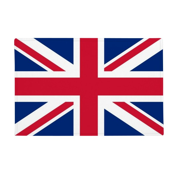 UK National Flag Europe Country Anti-slip Floor Mat Carpet Bathroom Living Room Kitchen Door 16x30Gift