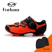 Tiebao Mùa Đông Men Cycling Giày Xe Đạp Leo Núi Giày Thoáng Khí Non-slip MTB Xe Đạp Giày Sneakers zapatos ciclismo