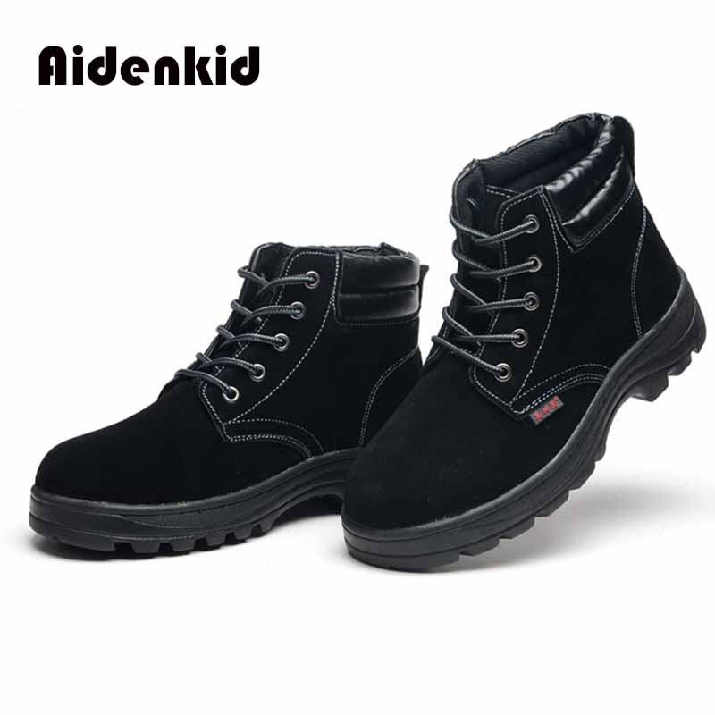 Dropshipping Indestructible Ryder Shoes Men And Women Steel Toe Air Safety Boots Puncture Proof Work Sneakers Breathable Shoes in Men 39 s Casual Shoes from Shoes
