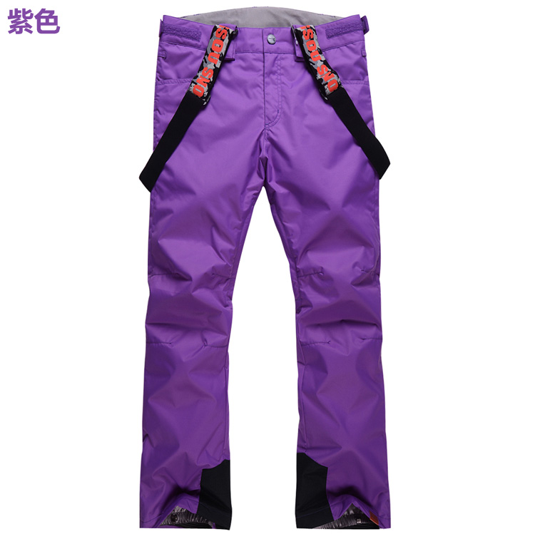 ФОТО free shopping Good quality Gsou snow  model trousers A and B style skiing pants waterproof&windproof thermal women ski pant