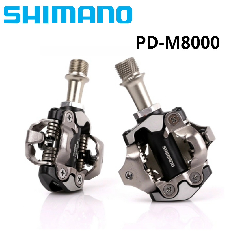 NEW SHIMANO XT PD M8000 Bicycle Pedal SPD Pedals MTB Components Use for Bicycle Racing Mountain Bike Parts-in Bicycle Pedal from Sports & Entertainment    2