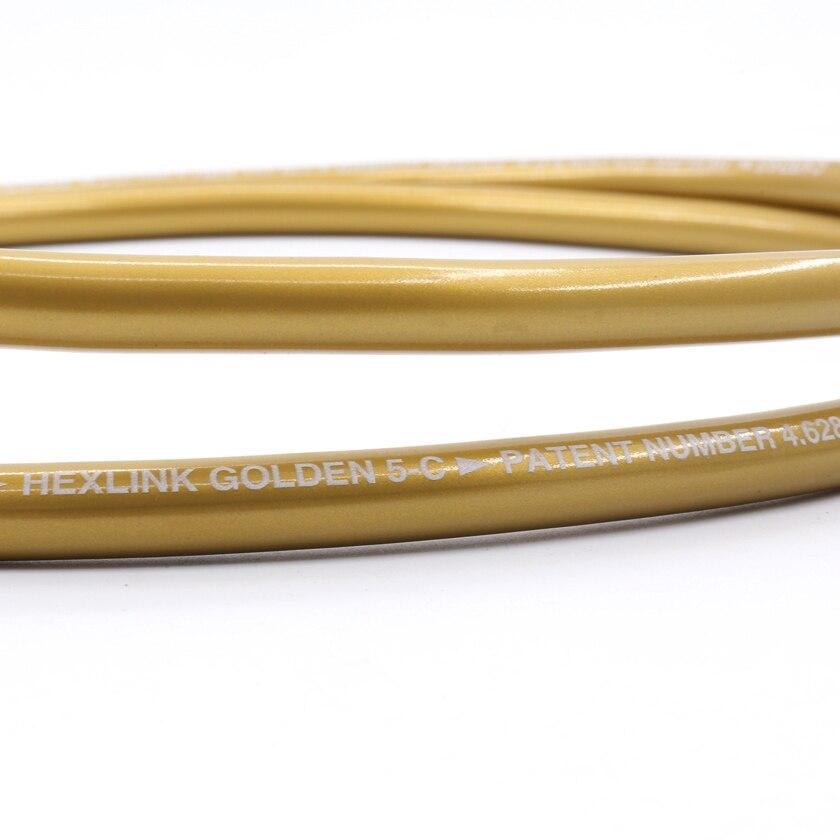 Câble d'interconnexion RCA doré Cardas HEXLINK 1.5 m - 3