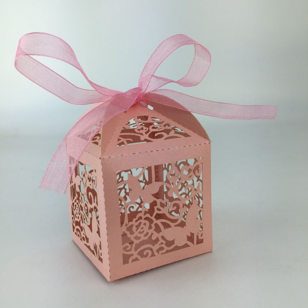 US $30 0 Handmade Decorated Christmas wedding party business banquet Gift Packaging Box Paper Christmas Gift Box laser cutting candy box Party