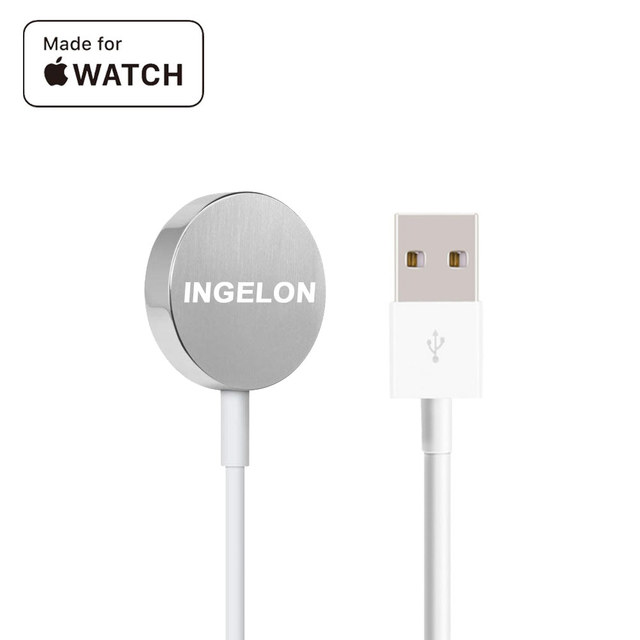 Ingelon Watch Charger for Apple Watch Magnetic Wireless Charging Cable Wholesale 38mm&42mm Smart Watch Series 3 2 1 Dropshipping