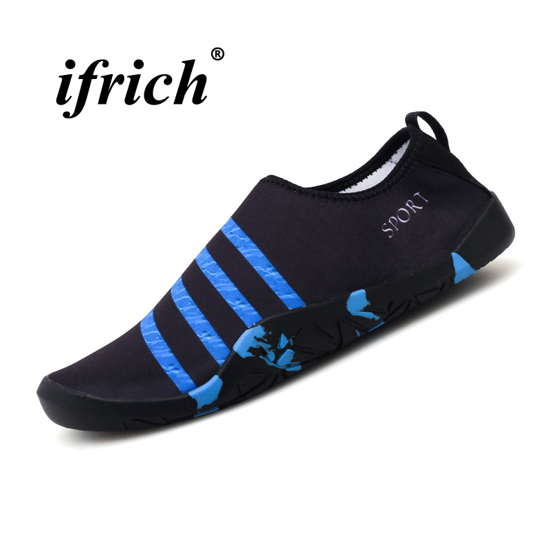 Good Quality Water Walking Shoes for Couples Wearable Diving Boots Quick Dry Men Women Slip-on Yoga Sneakers Breathable Shoes