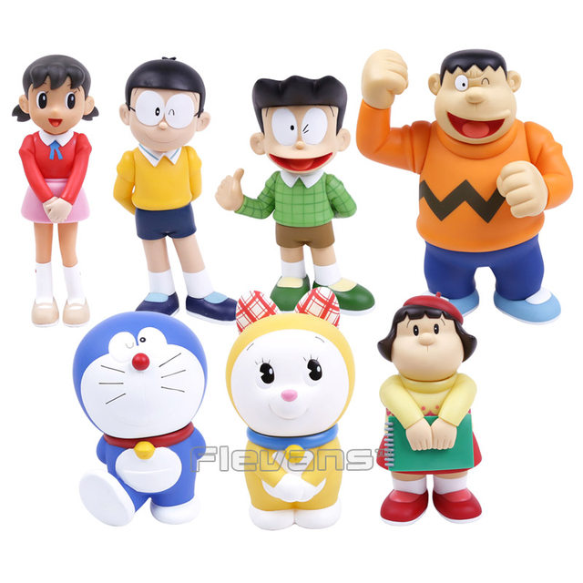 online shop doraemon family nobi nobita minamoto shizuka pvc action