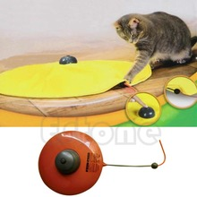 Undercover Fabric Moving Mouse Interactive Play Meow Cat Toy For Cat Kitty Funny